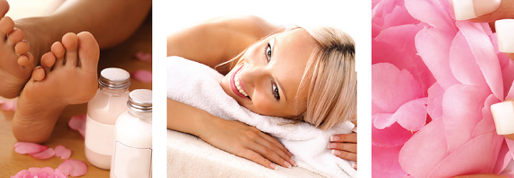 June Spa Specials with pedicure and express mani Ell and Company Salon in Columbia MO